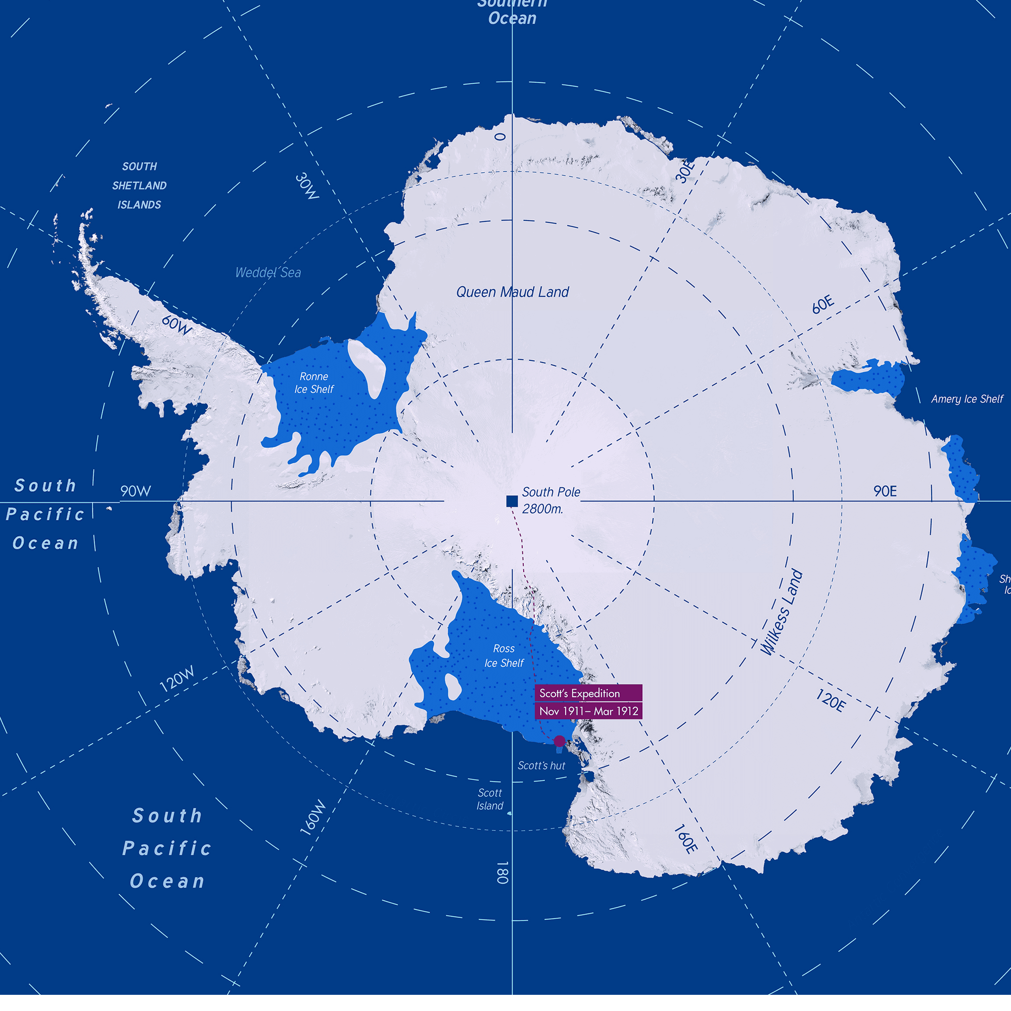 South Pole World Map.South Pole Energy Challenge Shell Global